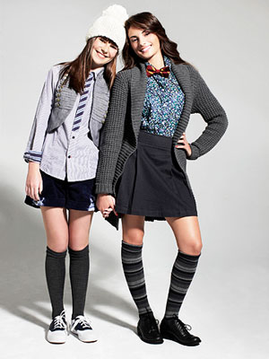 preppy back-to-school fashion