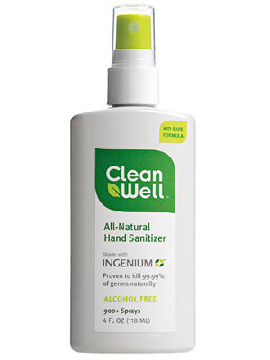 CleanWell All-Natural Hand Sanitizer