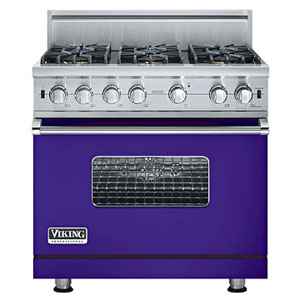 Viking Professional Custom Series gas range
