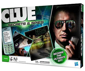 Clue Secrets & Spies