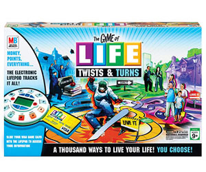 The Game of Life Twists and Turns