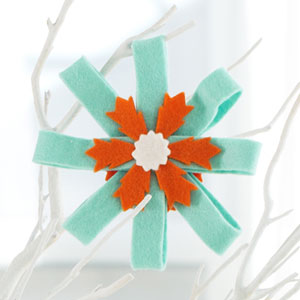 Rosette Ornament