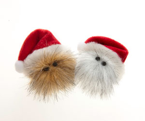 Santa pet toys