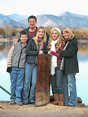 The Erickson family