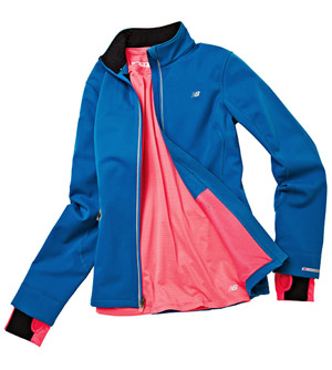 New Balance NB x Wind Blocker Jacket, New Balance NB x Emissive Long Sleeve Top