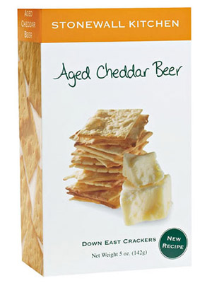 Stonewall Kitchen Aged Cheddar Beer Crackers