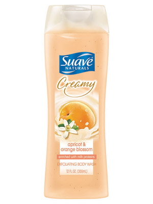 Suave Naturals Creamy Apricot & Orange Blossom Body Wash