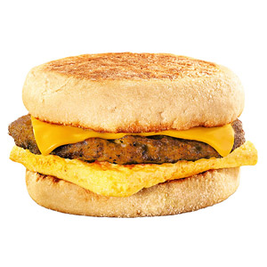 Burger King BK Breakfast Muffin Sandwich