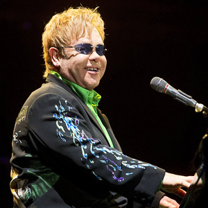 Elton John in concert