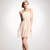 Ann Taylor One-Shoulder Silk Dress