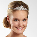 JCPenney Rhinestone Tiara