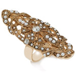 Molly Sims Elongated Ring