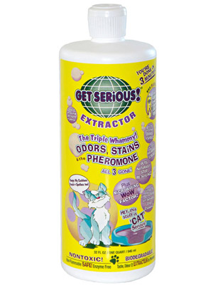 Get Serious Pet Stain Odor and Pheromone Extractor