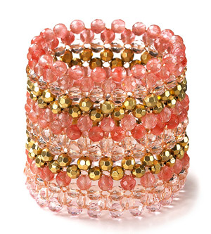 Bloomingdale?s Beaded Stretch Bracelet