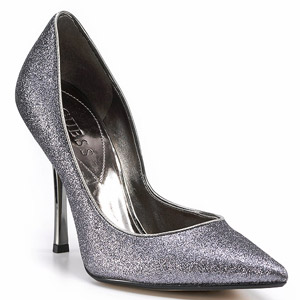 Bloomingdale's Carrie Glitter Pumps