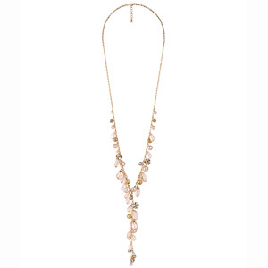 Forever 21 Long Beaded Chain Necklace