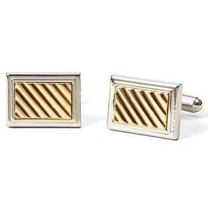 JCPenney goldtone cufflinks