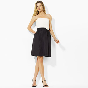 Ralph Lauren Carina Strapless Dress