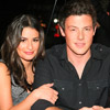 Lea Michele and Cory Monteith of Glee