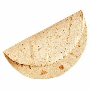 Tortilla for healthy lunch