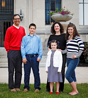 The Farrell family