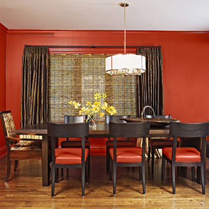 Warming Trend dining room painting
