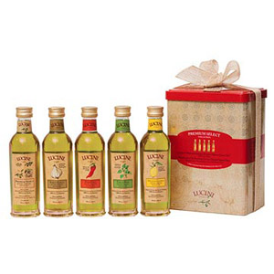 Lucini?s Tuscan Collection of Premium & Infused Extra Virgin Olive Oils