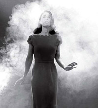 Woman in a fog