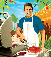 bobby flay illustration