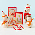 cards and snowmen