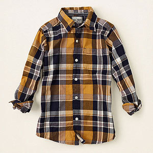 The Childrens Place Plaid shirt