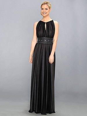 6PMJessica Howard S/L Keyhole Neck Gown w/ Beaded Waist.jpg