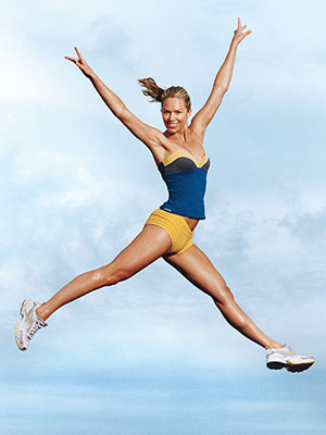 Women Jumping