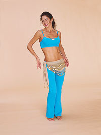 Belly dancer - hip circle