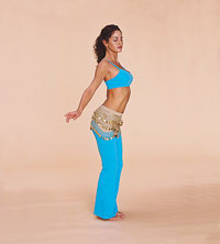 Belly dancer - camel move