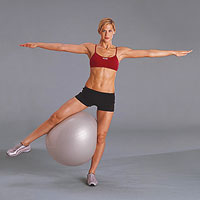 Inner-Thigh energizer with exercise ball (b)