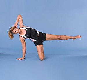 Side-Kneeling Triangle Lift (a)
