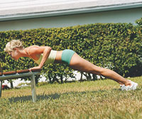 Park Bench Push-Up