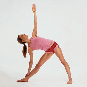Triangle, yoga