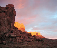 Outward Bound Canyoneering Trip: Sunset