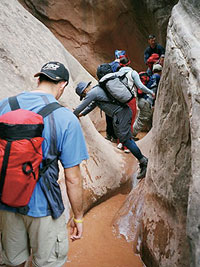 Outward Bound Canyoneering Trip