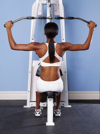 lat pull-down challenge