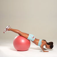 ball push-up