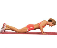 modified halfway push-up