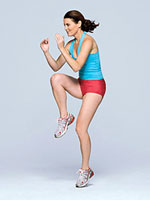 Single-leg plyometric