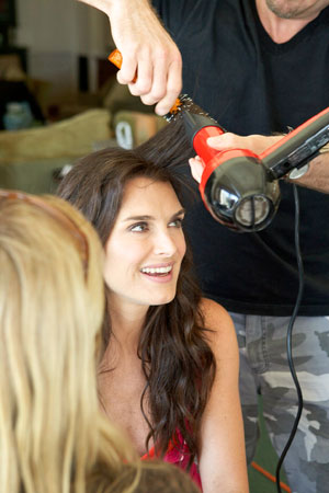 Brooke Shields Hair and Makeup
