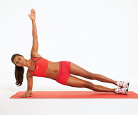 Side Plank With a Twist