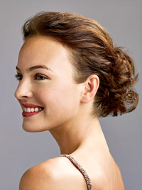 A gorgeous, party-ready updo