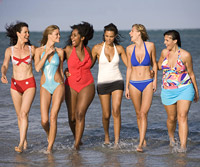 women in swimsuits