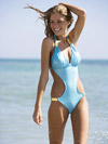 model in Luli Fama Star Collection swimsuit